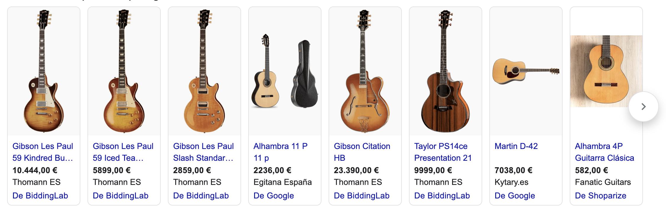 guitarra cara