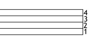 pentagrama 4 lineas